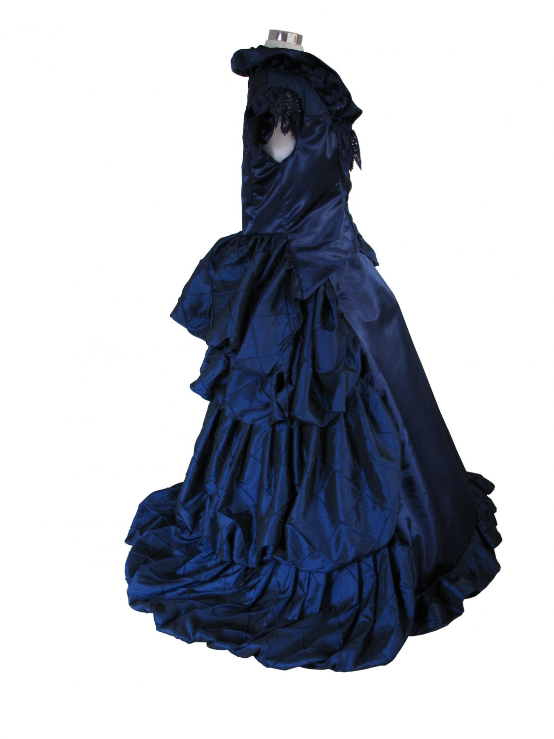 Ladies Deluxe Victorian Evening Ball Gown Size 12 - 14 - Complete ...