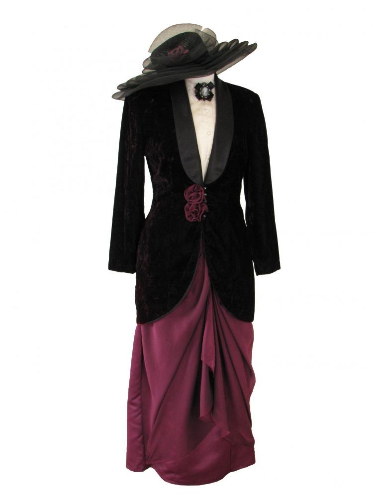 Ladies Edwardian Downton Abbey Titanic Costume  Image