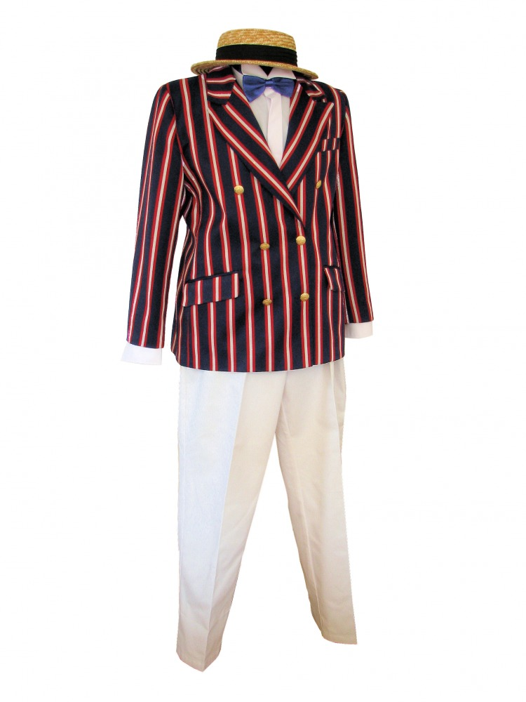 1930s mens sports jacket stripe