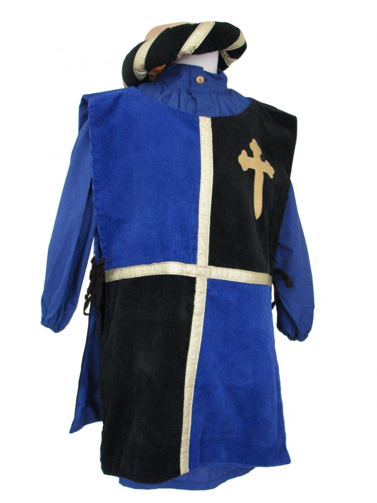 Boy's Medieval Peasant Tabard Costume Image