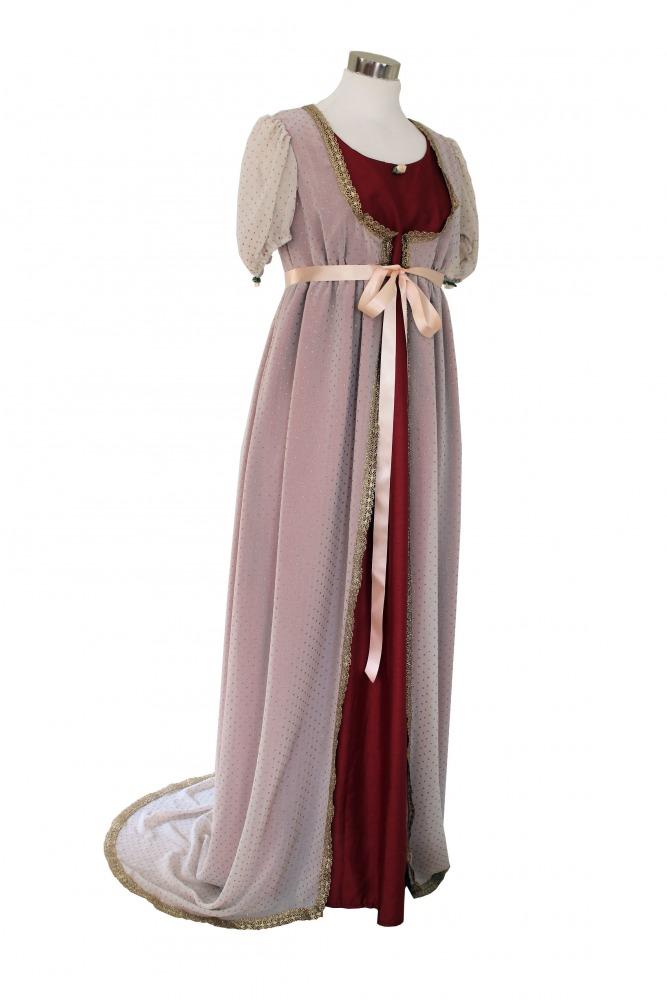 646b72cd6c68 Ladies Jane Austen Regency Evening Ball Gown Size 12 - 14 - Complete ...