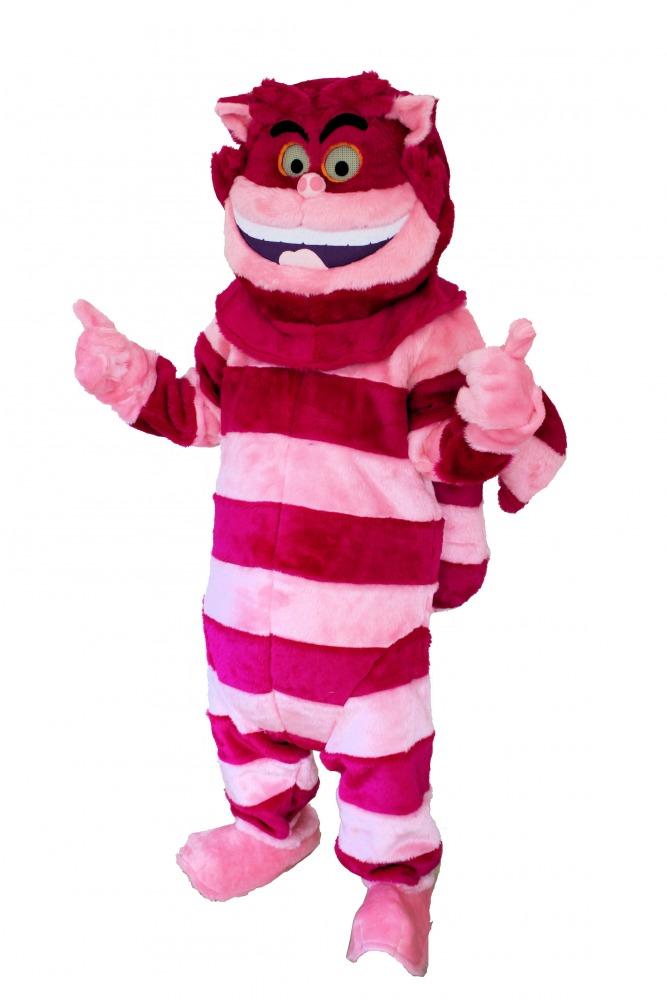 Menu0027s Ladiesu0027 Alice In Wonderland Cheshire Cat Mascot Padded Deluxe Costume Image  sc 1 st  Complete Costumes & Menu0027s Ladiesu0027 Alice In Wonderland Cheshire Cat Mascot Padded ...