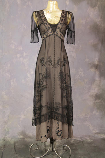 Ladies Edwardian Downton Abbey Titanic Gown Size 8 10