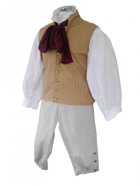 Deluxe Men's Regency Mr. Darcy Victorian Costume Size L Image