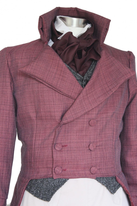 Deluxe Men's Regency Mr. Darcy Victorian Costume Size S/M Image