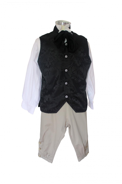 Deluxe Men's Regency Mr. Darcy Victorian Costume Size Large Image