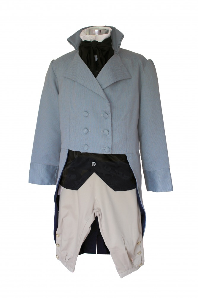 Deluxe Men's Regency Mr. Darcy Victorian Costume Size Large Image