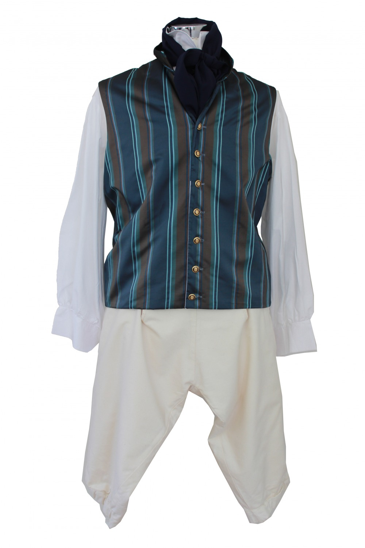 Deluxe Men's Regency Mr. Darcy Victorian Costume Size L XL Image