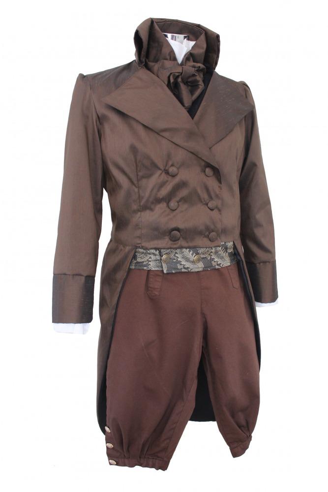 Deluxe Men's Regency Mr. Darcy Victorian Costume Size M Image