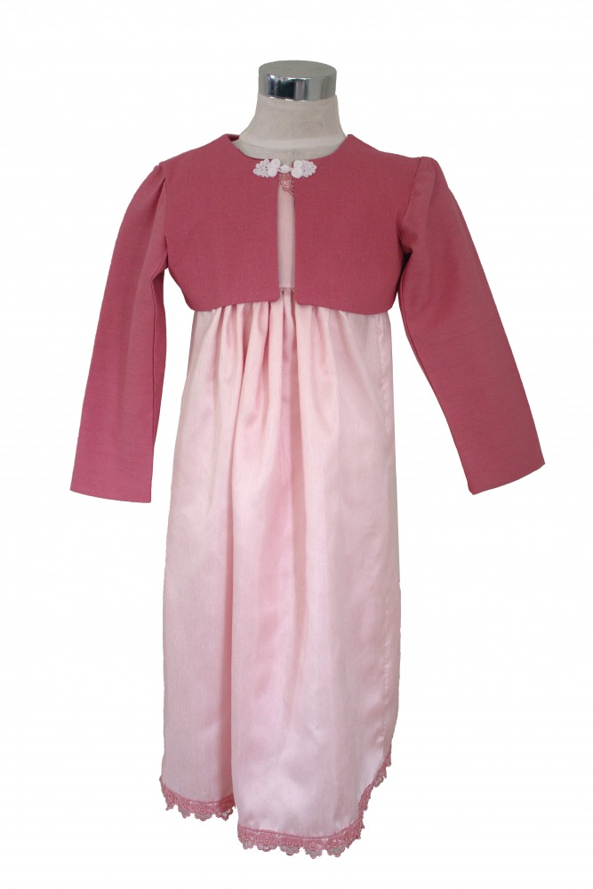 Girl's Regency Jane Austen Costume Age 4 Years  Image