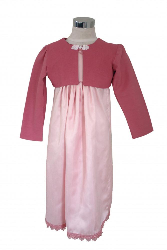 Girl's Regency Jane Austen Costume Age 4 Years  Image