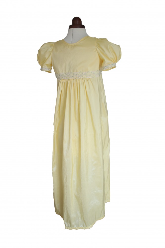 Girl's Regency Jane Austen Costume Age 13 - 14 Years  Image