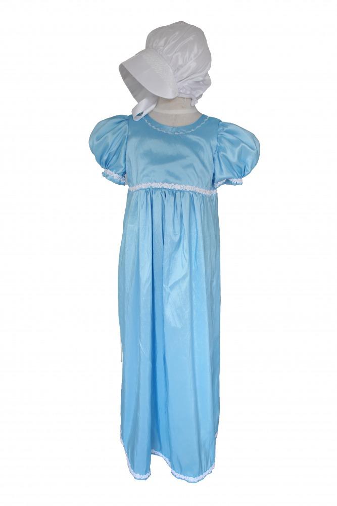 Girl\'s Regency Jane Austen Costume Age 10 - 11 Years - Complete ...