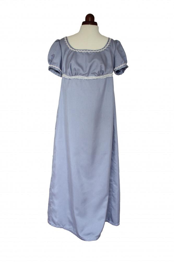 Ladies 19th Century Jane Austen Regency Evening Ball Gown Size 12 Image