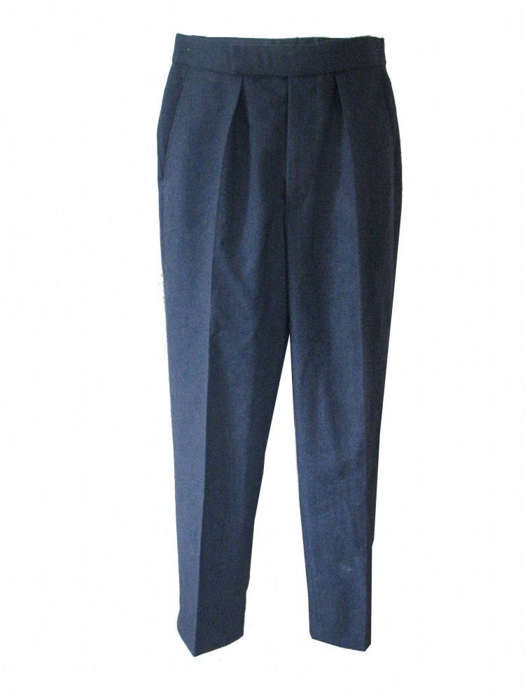 "Men's 1940s Wartime RAF Royal Air Force Trousers Waist 28"" Inside Leg 31"" Image"