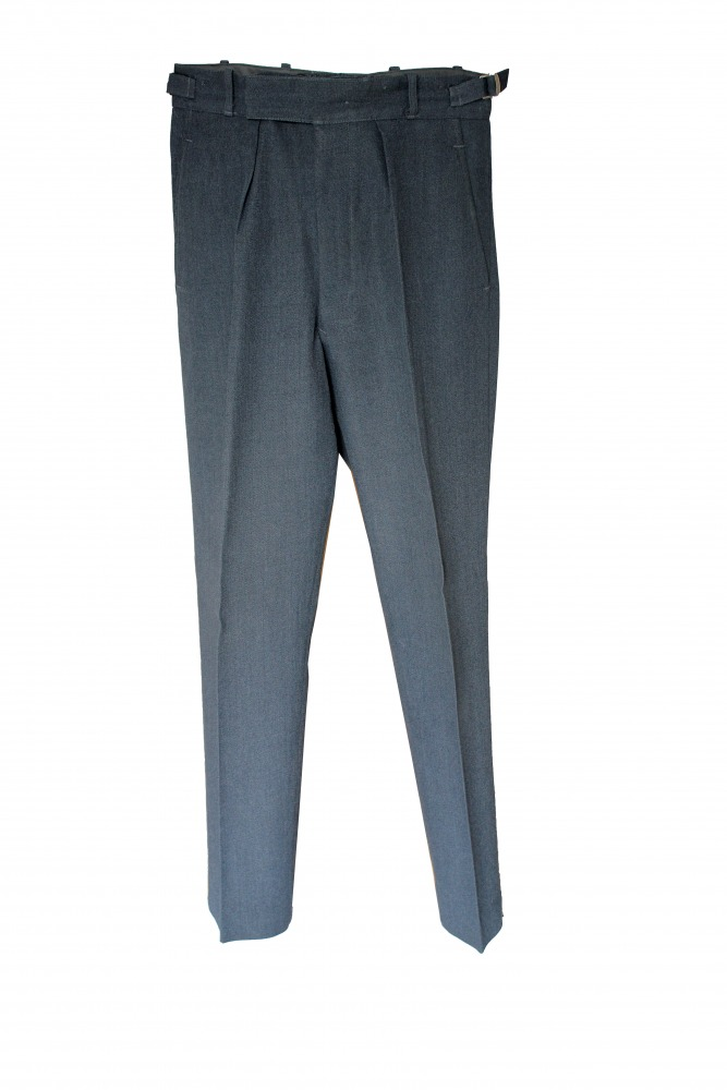 "Men's 1940s Wartime RAF Royal Air Force Trousers Waist 30"" Inside Leg 31"" Image"