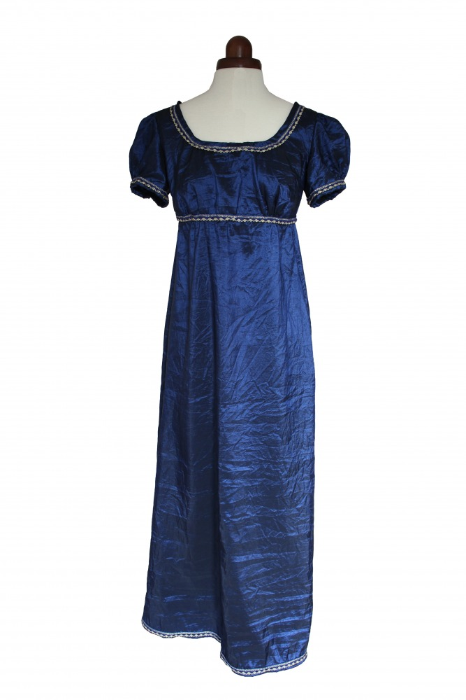 Ladies 18th 19th Century Regency Jane Austen Costume Evening Gown Size 10 - 12 Image