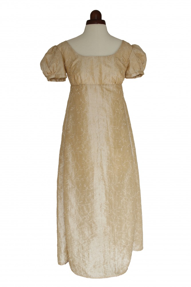 Ladies 18th 19th Century Regency Jane Austen Costume Evening Gown Size 8 - 10 Image
