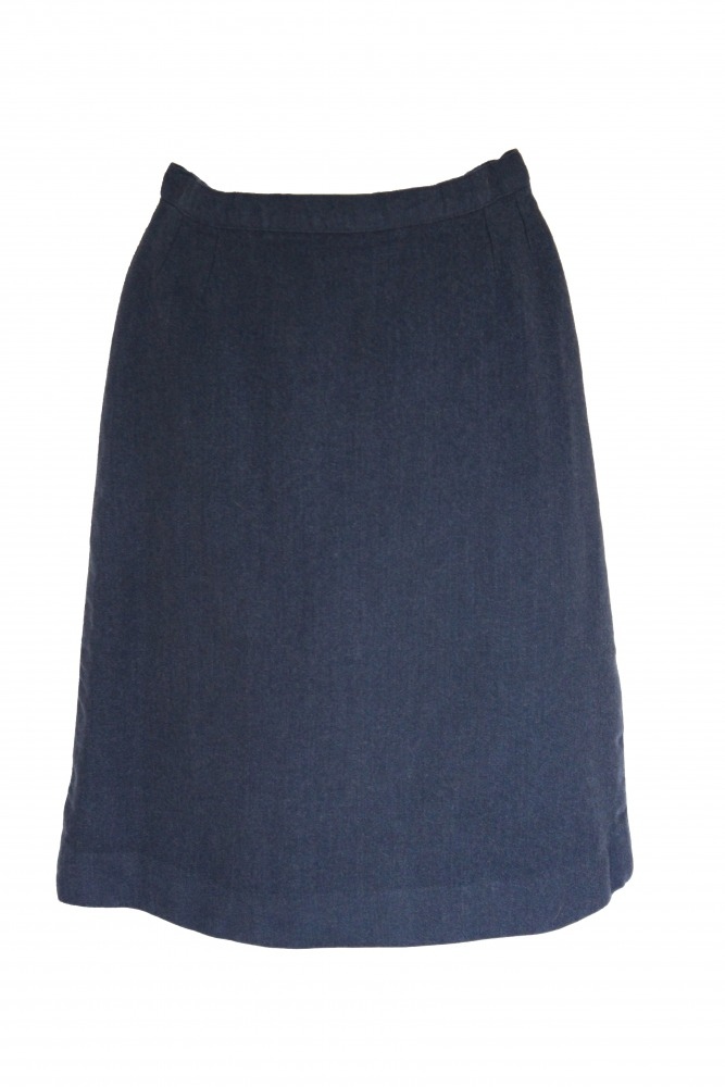 "Ladies Royal Air Force WRAF skirt - Waist 26"" Length 23.5"" Image"