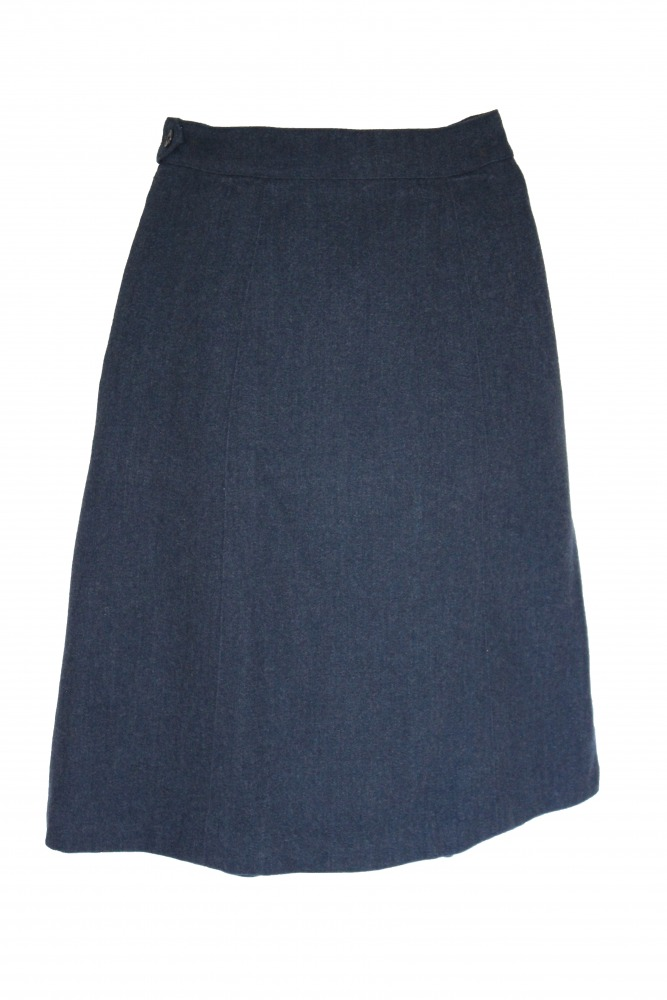 "Ladies Royal Air Force WRAF skirt - Waist 26"" Length 24"" Image"