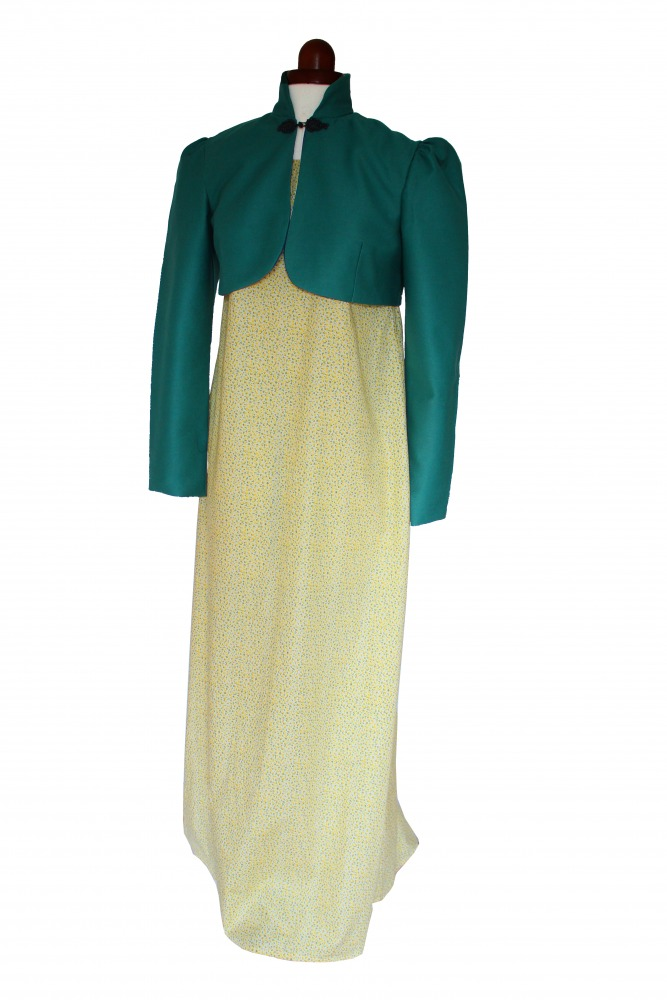 Ladies 18th 19th Century Regency Jane Austen Day Costume Size 10 - 12 Image