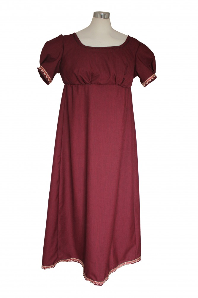 Ladies 18th 19th Regency Jane Austen Costume Evening Ball Gown Size