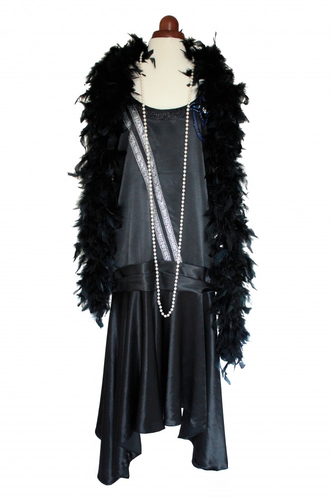 Ladies 1920s 1930s Flapper Charleston costume Size 10 - 12 Image