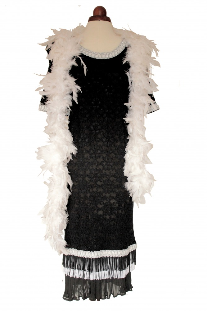 Ladies 1920s 1930s Flapper Charleston costume Size 12 - 14 Image