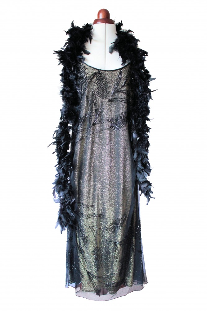 Ladies 1920s 1930s Flapper Charleston costume Size 14 - 16 Image