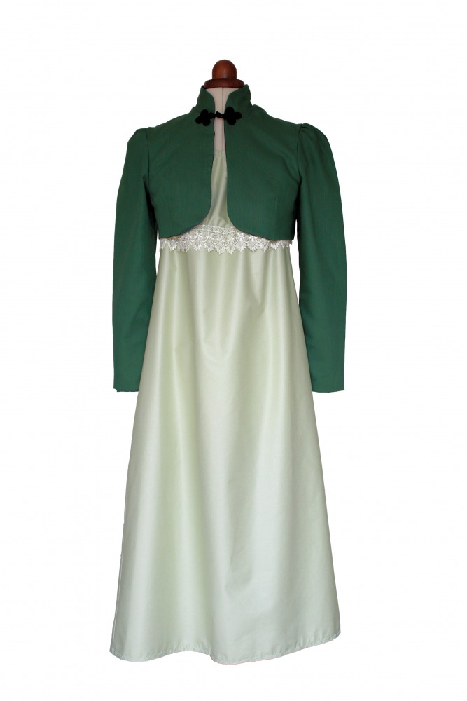 Ladies Petite 18th 19th Regency Jane Austen Day Costume Size 12 - 14 Image