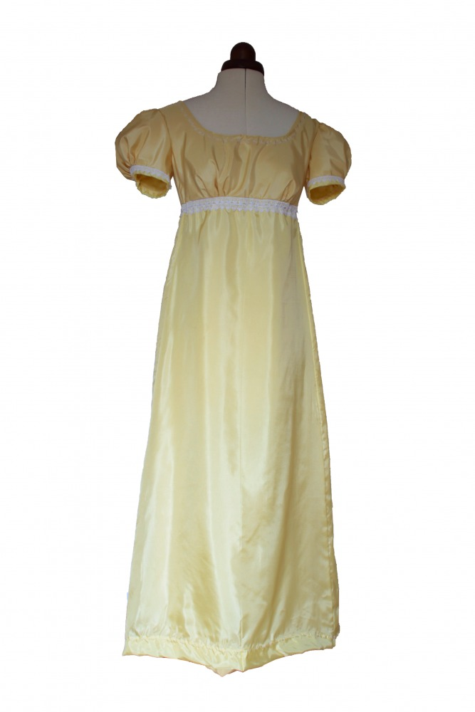 Ladies/ Older Girl's 19th Century Jane Austen Regency Evening Ball Gown Size 10 - 12 Image