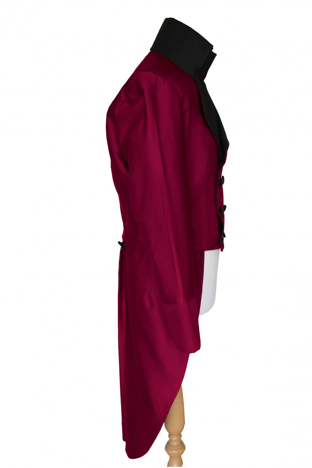 FOR SALE Made To Order Men's Handmade Deluxe Mr.Darcy Regency Victorian Tailcoat Purchase Only S, M, L, XL  Image
