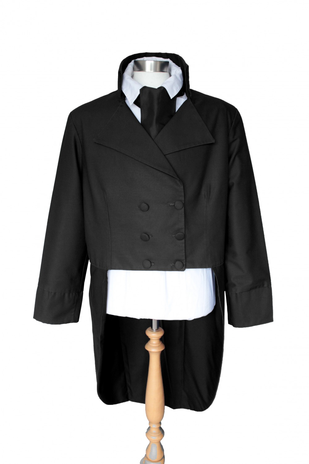For Sale Made To Order Men's Regency Mr. Darcy Victorian Tailcoats Sizes XS, S, M, L , XL Image