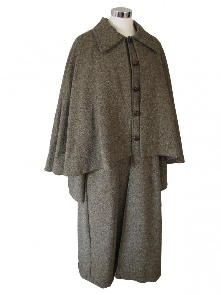 Mens Sherlock Holmes Victorian Edwardian Costume Image