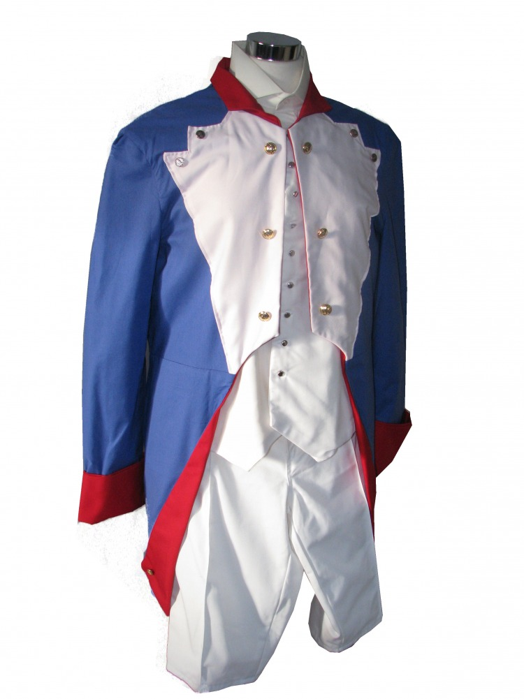 Mens 18th Century Napoleon Fancy Dress Costume Size L - XL Image
