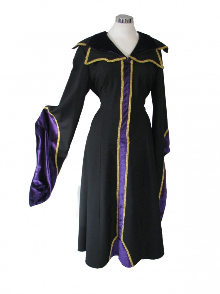 Ladies Evil Queen Sleeping Beauty Costume Size 10 - 16 Image
