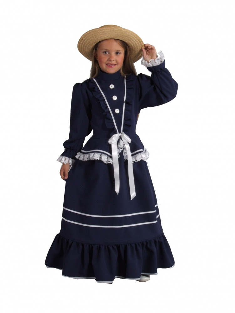 Girls Victorian Lady Costume Complete Costumes Costume Hire