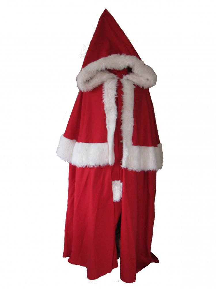 Mens Father Christmas Santa Fancy Dress Costume Image