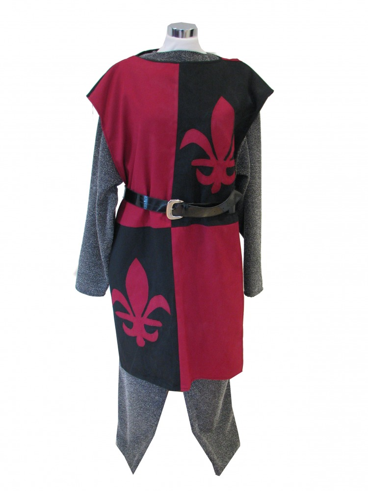 Mens Medieval Knight Fancy Dress Costume Image