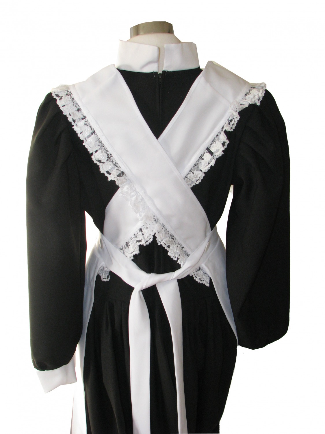 90e48f890f9 Ladies Victorian Maid Fancy Dress Costume Size 18 - 20 - Complete ...
