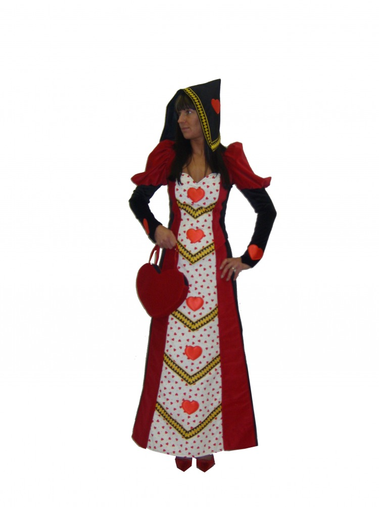Ladies Queen of Hearts Costume Size 12 - 14 Image