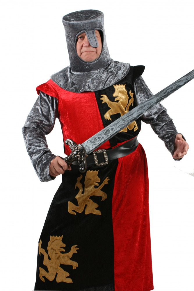 Mens Medieval Knight Costume Image