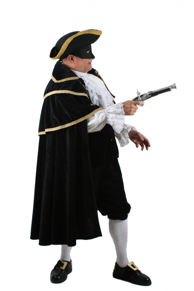 Mens 18th Century Dick Turpin Adam Ant Highwayman Costume Image