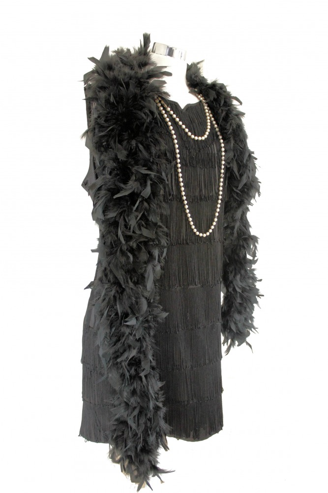 Ladies 1920s 1930s Flapper Charleston Costume Size 16 - 18 Image
