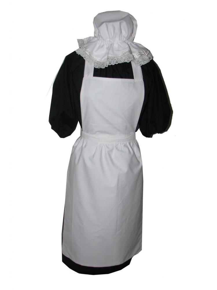 Girls victorian maid costume age 10 12 image