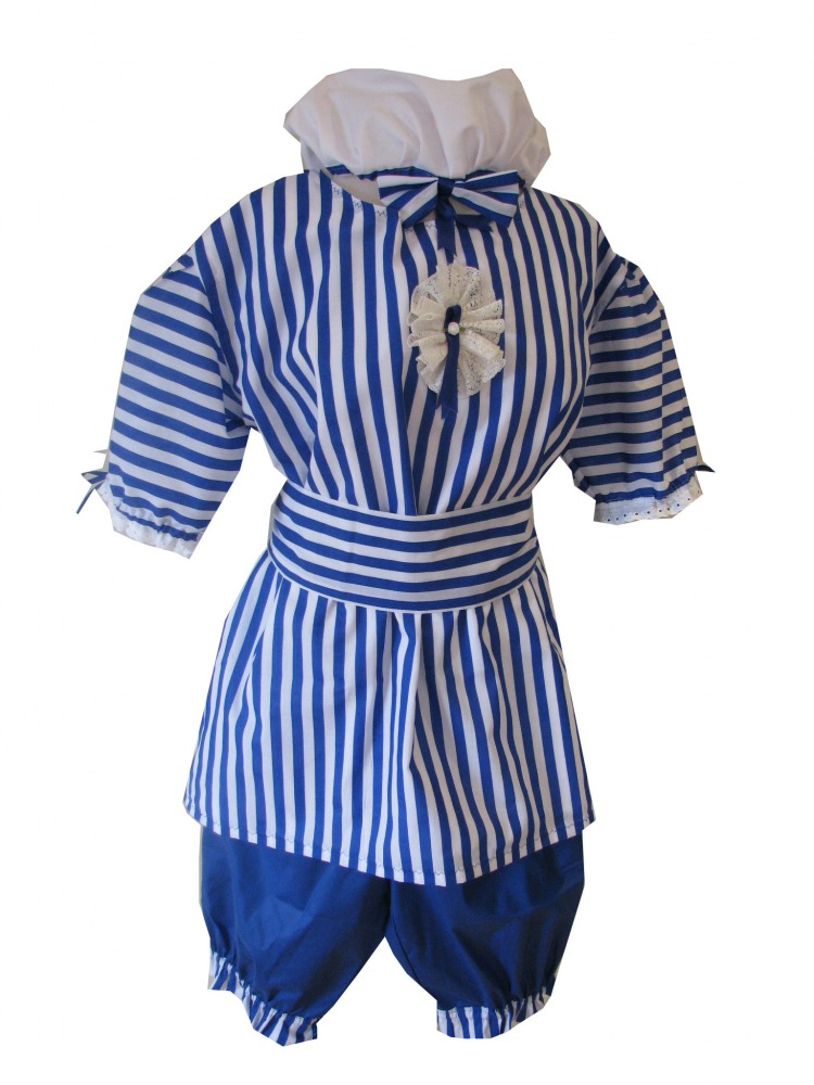 Ladies 1920s 1930s Bathing Belle Costume Size 10 - 16 Image