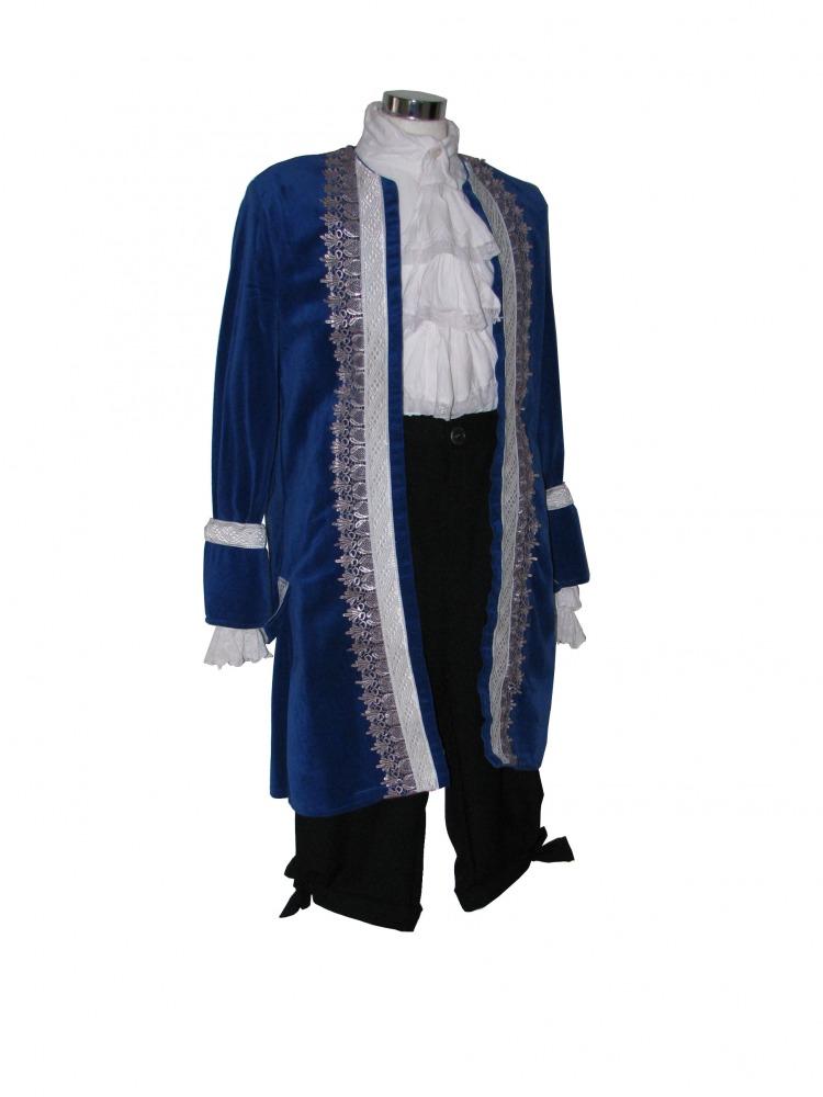 Mens 18th Century Masked Ball Masquerade Costume Image