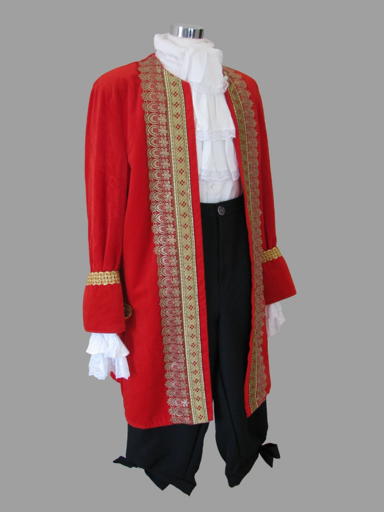 Mens 18th Century Masked Ball Masquerade Costume