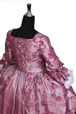 Deluxe Ladies 18th Century Masked Ball Costume Size 8 - 10 Image