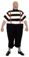 Mens Tweedle Dee Alice in Wonderland Costume